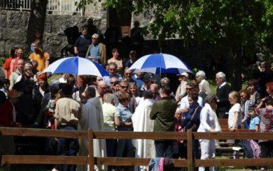 L'Ascension au sanctuaire Notre-Dame du Laus