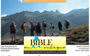 """Session """"Bible en montagne"""" à Vars"""