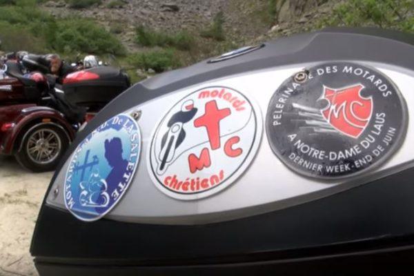 Pélé motard dans les Hautes-Alpes