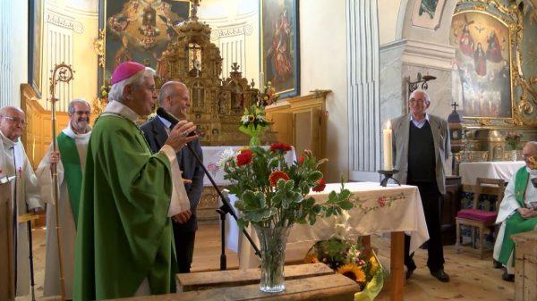 Mgr Jean-Michel di Falco Léandri à Val-des-Prés
