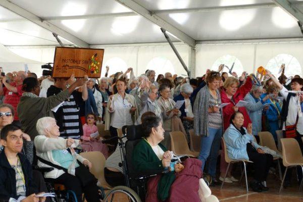Pèlerinage au Laus des personnes malades, âgées, isolées, handicapées