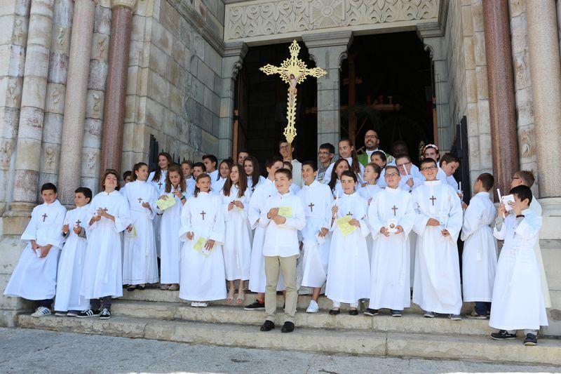 Profession de foi du collège Saint-Joseph à la cathédrale