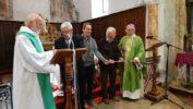 """Mgr Jean-Michel di Falco Léandri à Arvieux : """"Queyrassins, vous pouvez nous apprendre ce que cela veut dire, cohabiter."""""""