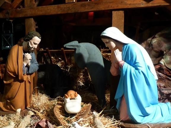 Homélie du père Jean-Michel Bardet : « Il n'y avait pas de place pour eux dans la salle commune. »