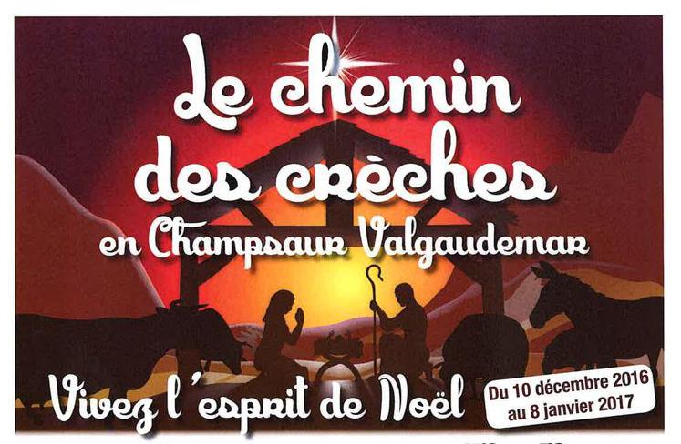 Prenez le chemin des crèches en Champsaur-Valgaudemar