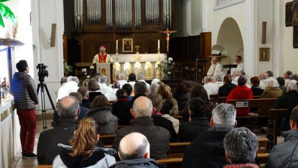 Des vœux pour le diocèse avec à l'horizon le départ de Mgr Jean-Michel di Falco Léandri