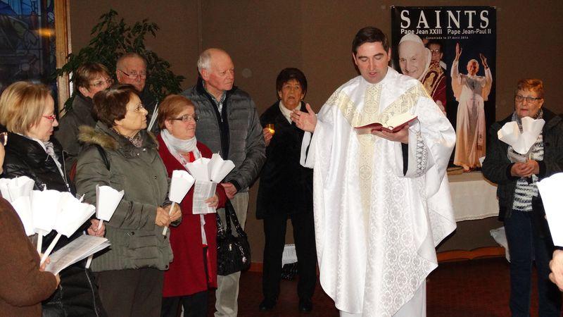 Messe pour les Italiens en l'église Saint-Roch