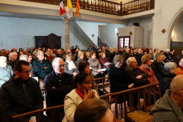 Les obsèques du père Pierre Gleize à Chorges