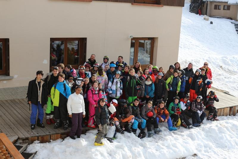 Camp ski pour des jeunes du diocèse à Ceillac