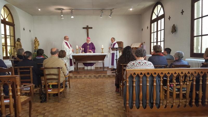 """Récollection de Carême au Centre diocésain : """"Sans l'évêque vous n'êtes rien, et sans vous l'évêque n'est rien"""""""
