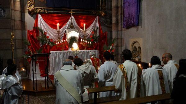Jeudi Saint – Jour anniversaire des prêtres