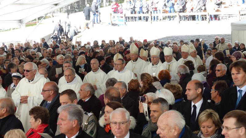 Les adieux de Mgr Jean-Michel di Falco Léandri aux Haut-Alpins