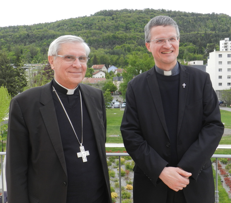 Agendas publics de Mgr Jean-Michel di Falco Léandri et de Mgr Xavier Malle pour juin 2017