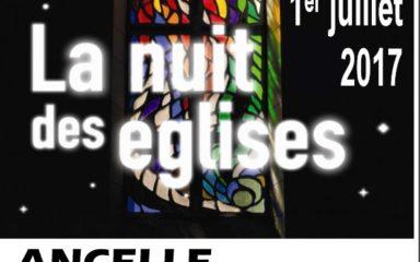 Vivez la nuit des églises cette semaine !