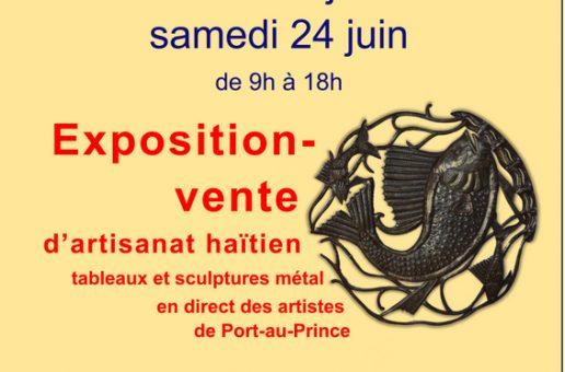 Exposition-vente au profit d'Haïti