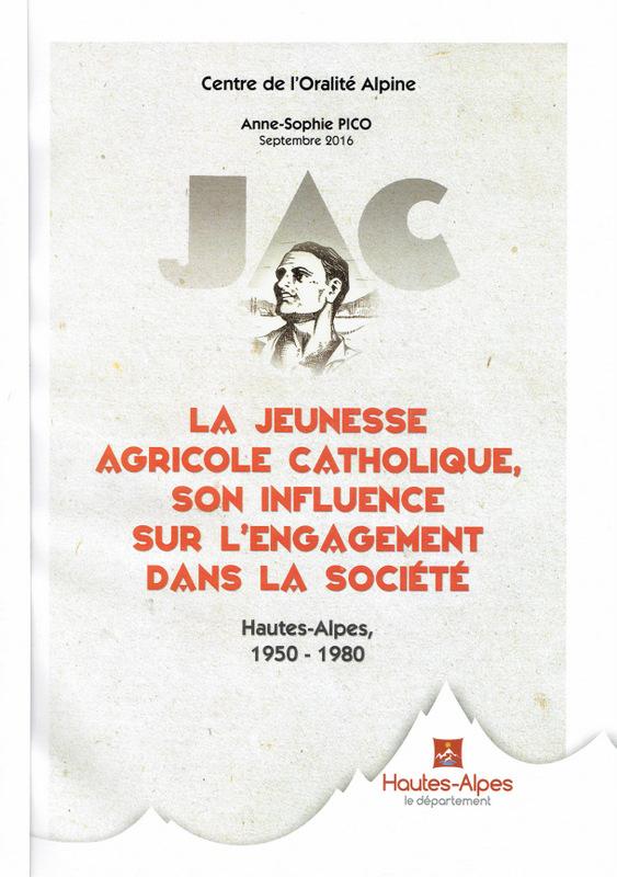 40 ans de présence et d'action de la JAC dans les Hautes-Alpes