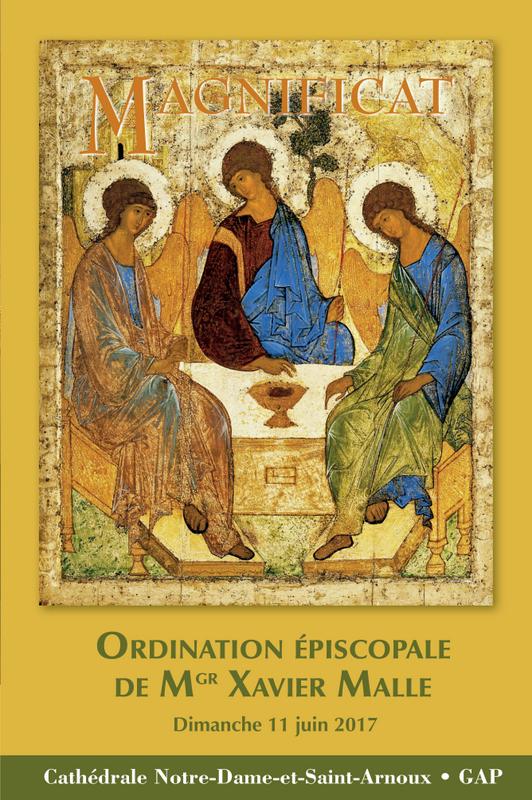 Merci à Magnificat d'avoir offert le livret d'ordination