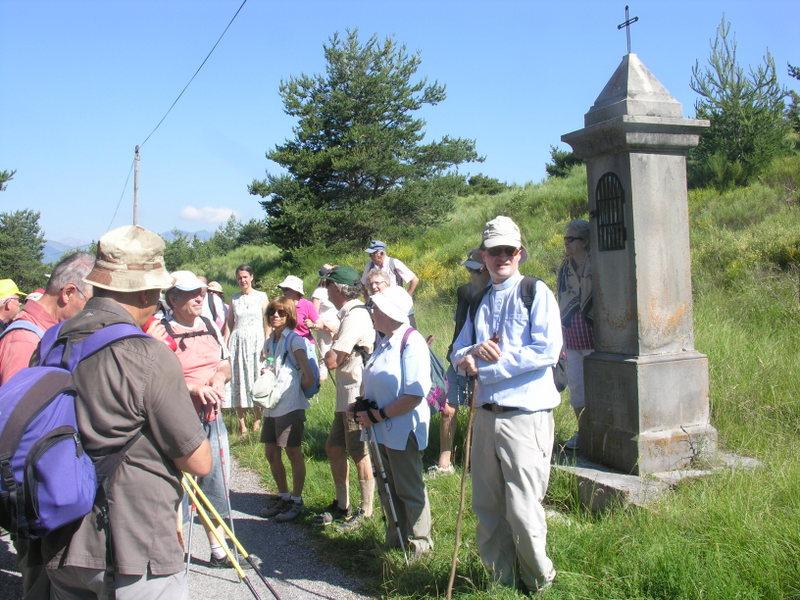 Pèlerinage à pied de Mgr Xavier Malle