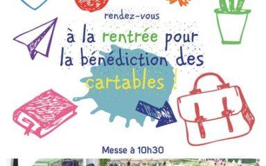 Fête de la rentrée scolaire au sanctuaire Notre-Dame-du-Laus