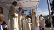 Mgr Xavier Malle aux paroissiens du Gapençais : Ravivez le don de l'onction