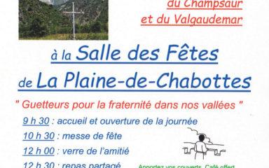 Les paroisses du Champsaur et du Valgaudemar fêtent leur rentrée