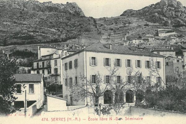 L'ancien petit séminaire de Serres