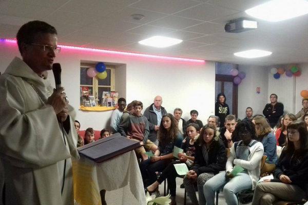 Bénédiction de la K'to Sphère, lieu dédié aux jeunes à Gap
