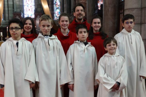 Sainte Cécile honorée à Gap avec la nouvelle maîtrise de la cathédrale et l'harmonie municipale
