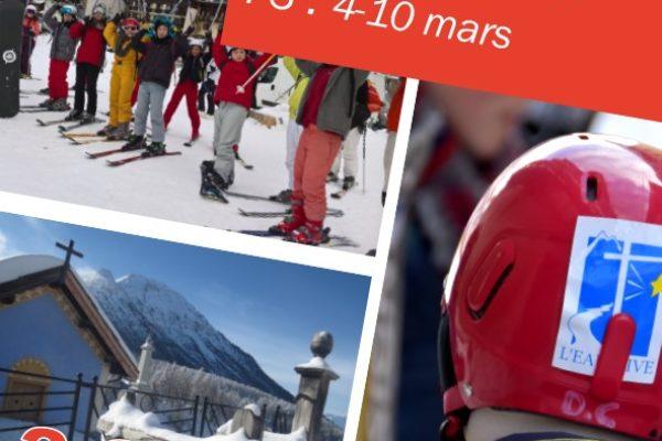L'Eau vive propose 3 camps de ski pour les vacances de février