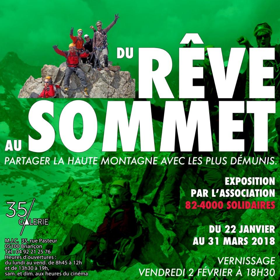 Expo photo à Briançon : « Du Rêve au Sommet, partager la montagne avec les plus démunis »