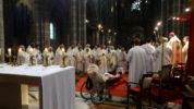 Première messe chrismale de Mgr Xavier Malle