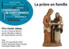 Conférence : La prière en famille