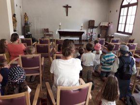 temps de prière caté Saint-Pie V