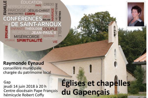 Conférence sur les églises et chapelles du Gapençais