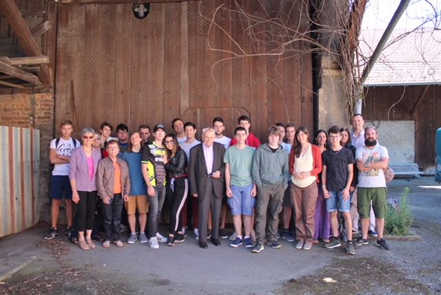Les élèves du Lycée Poutrain en Alsace