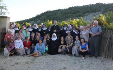 Retraite à l'abbaye Notre Dame de Miséricorde à Rosans