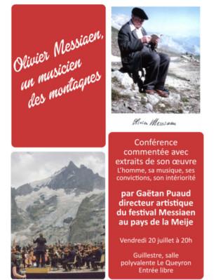 Olivier Messiaen, un musicien des montagnes