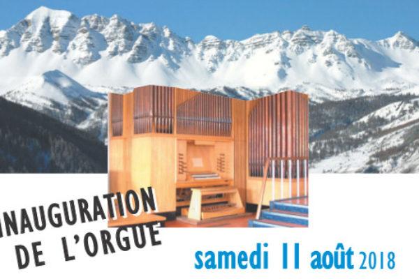 Inauguration de l'orgue du Centre œcuménique de Vars