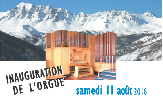 Inauguration de l'orgue du Centre œcuménique de Vars