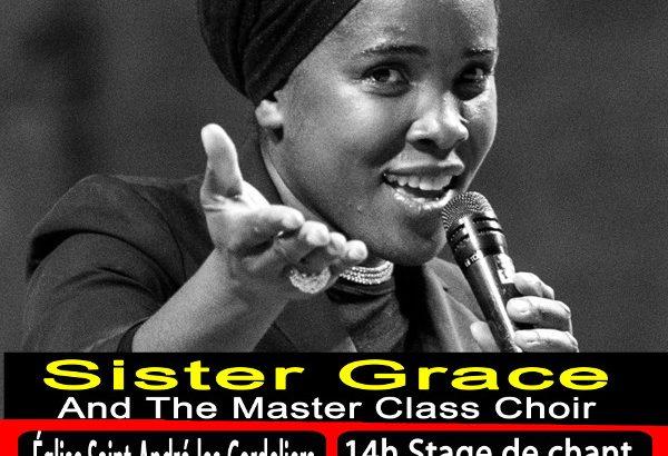 Sister Grace en concert à Gap le 8 juillet 2018