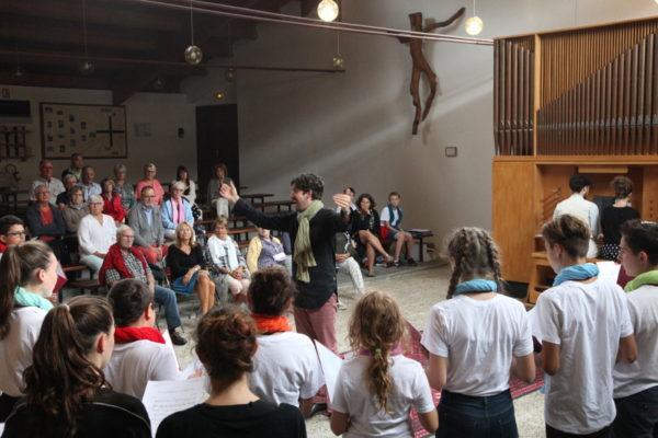 Les Petits-Chanteurs des Hautes-Alpes en concert à Vars