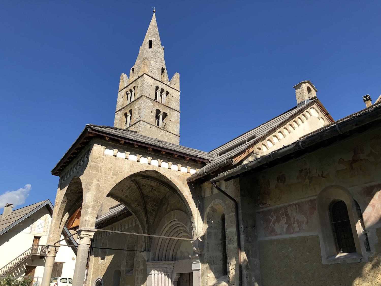 20180812 Bénédiction des travaux de restauration de l'église des VIGNEAUX