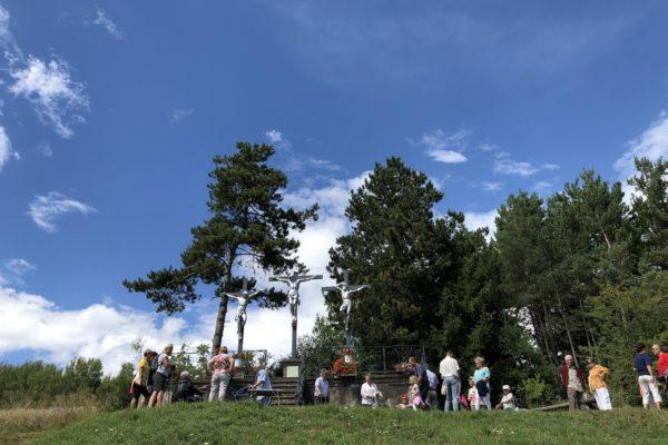 17 août 2018 Bénédiction du calvaire restauré de Chabottes