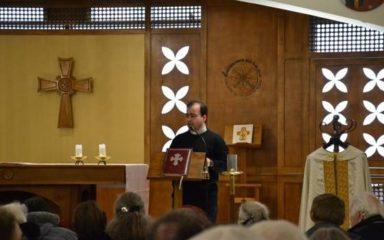 Le Père Fadi Lion à l'abbaye de Rosans et à Gap