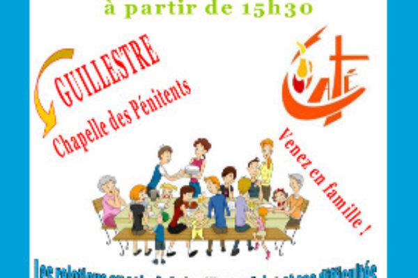 Rentrée pastorale du Guillestrois le 29 septembre 2018