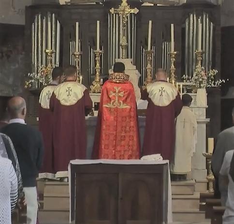 La communauté apostolique arménienne à Tallard