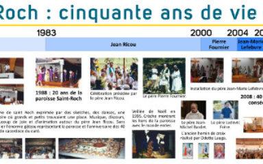 Anniversaire de la première messe célébrée dans l'église Saint-Roch
