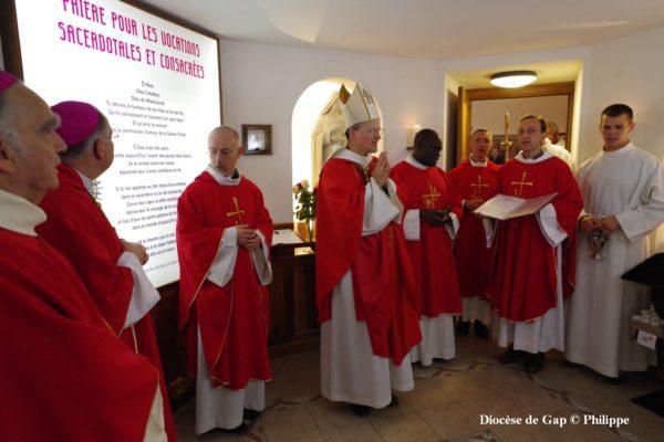 Une nouvelle chapelle pour les vocations au Sanctuaire Notre-Dame du Laus