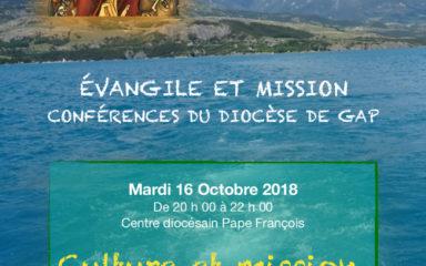 Première conférence du cycle Évangile et mission