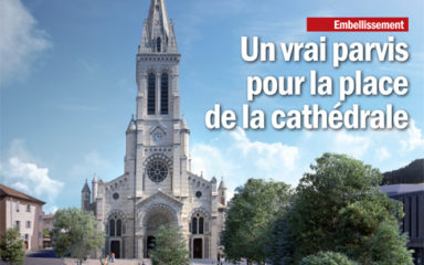 La cathédrale Notre-Dame de l'Assomption et Saint-Arnoux de Gap à l'honneur de Gap en mag